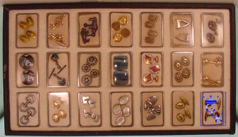 tray of 21 pairs